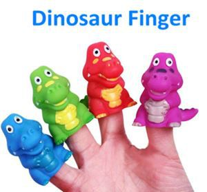 Dinosaur Finger Puppet Toy For Vending Capsule